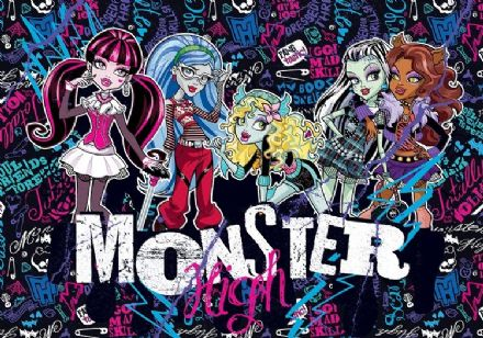 Monster High paper photo wallpaper